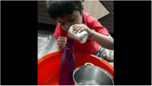 Filling Water In Water Bottle